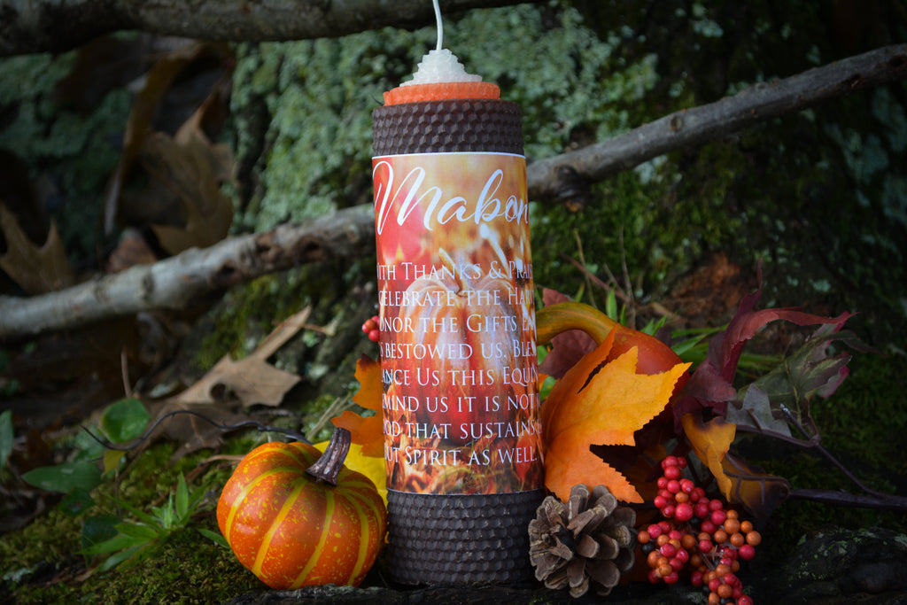 Mabon Candle~For Celebrating the Autumnal Equinox - Wild Witchery