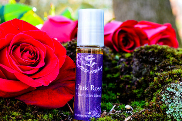 Dark Rose Perfume~A Seductive Blend - Wild Witchery