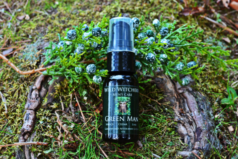Green Man Men's Care: Aftershave Serum - Wild Witchery