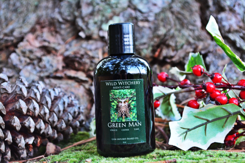 Green Man Men's Care: Beard Oil - Wild Witchery