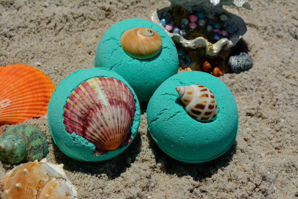 Mermaid Bath Bomb~For a Mermaid Bathing Ritual - Wild Witchery