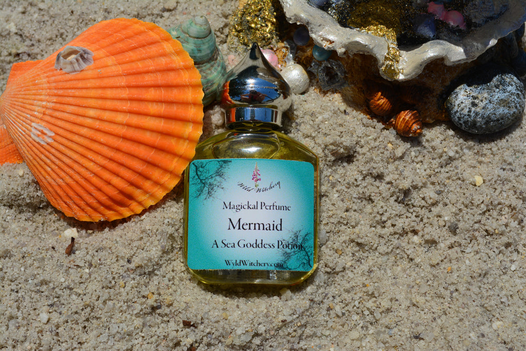 Mermaid Perfume~To Connect with Your Inner Mermaid - Wild Witchery