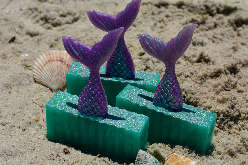 Mermaid Soap~For a Mermaid Bathing Ritual - Wild Witchery