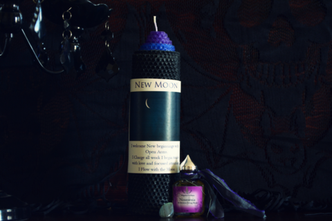 New Moon Ritual Set~For Intention Setting and Honoring the Noumenia - Wild Witchery