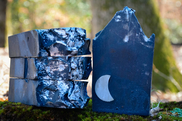 Dark-Moon-Cold Process-Soap-Wild Witchery