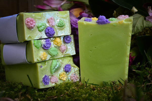 Persephone Cold Process Soap For a Blooming Bathing Ritual - Wild Witchery