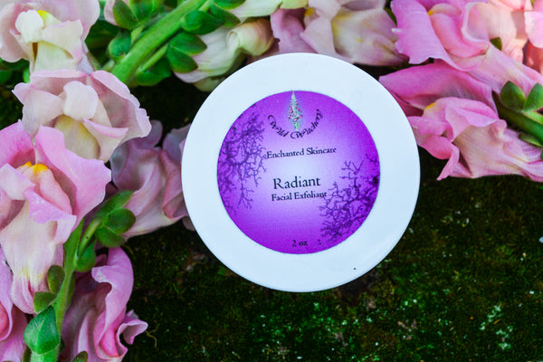 Radiant Facial Exfoliant - Wild Witchery