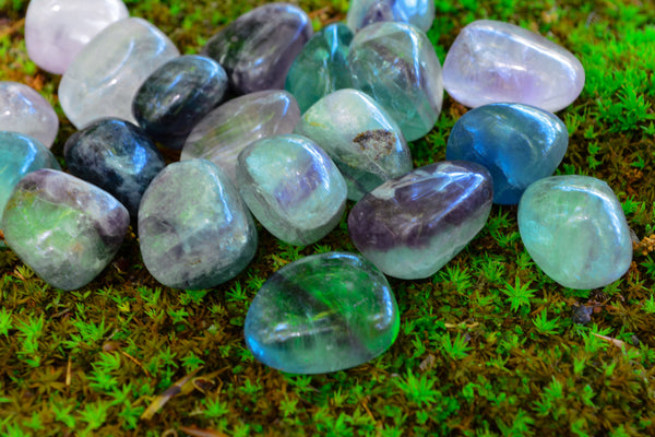 Rainbow Fluorite~ For Protection, Clarity & Calm