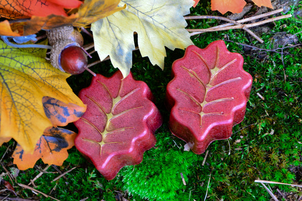 Autumn Leaf Soap~To Embrace the Magick of Fall - Wild Witchery