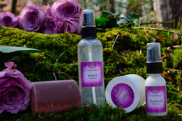 Replenish Skincare System for Normal/Combination Skin - Wild Witchery