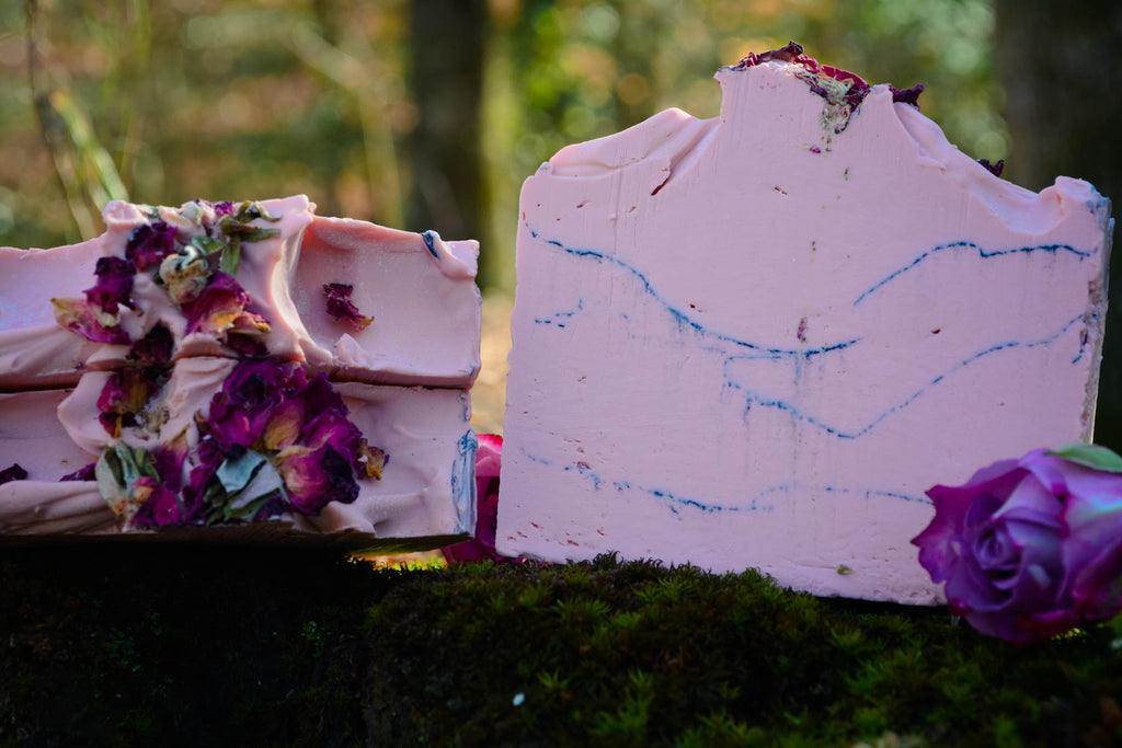 Rose + Charcoal Facial Soap - Wild Witchery