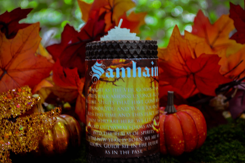 Samhain Candle~ For Celebrating the Celtic Darkest Night - Wild Witchery
