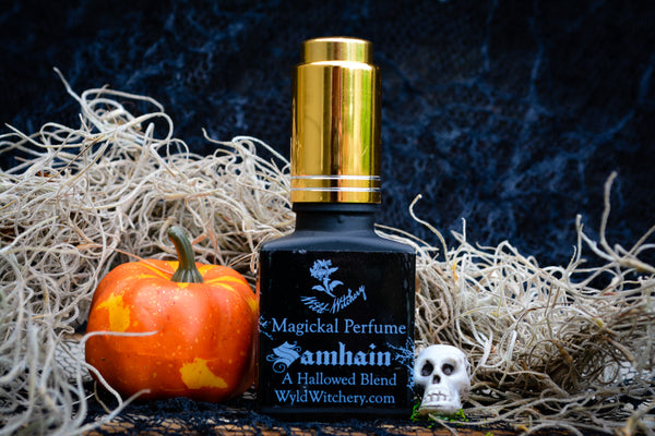 Samhain Perfume~A Hallowed Blend - Wild Witchery