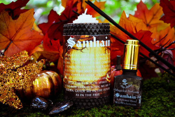 Samhain Ritual Set~To Honor the Thinning of the Veil - Wild Witchery