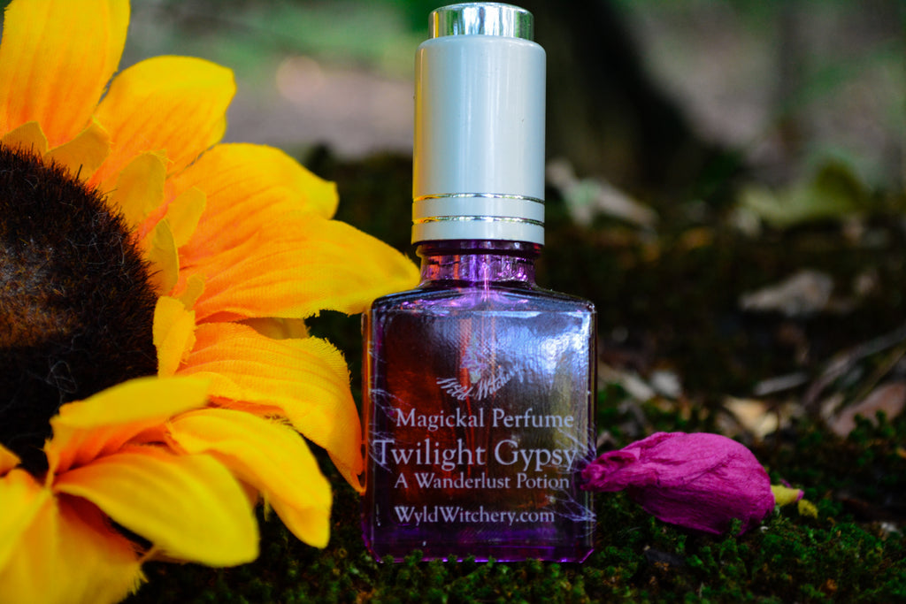 Twilight Gypsy Perfume~A Wanderlust Potion - Wild Witchery