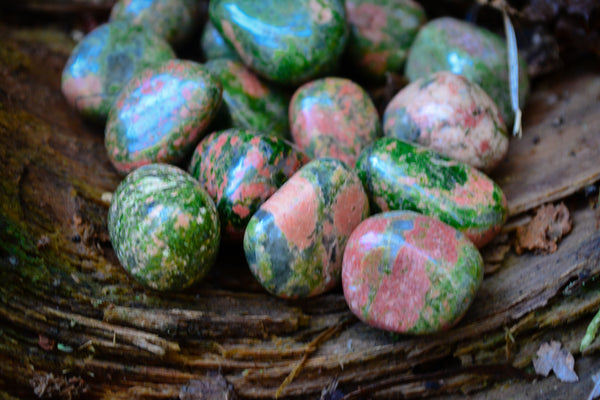 Unakite~For Heart Healing & Releasing