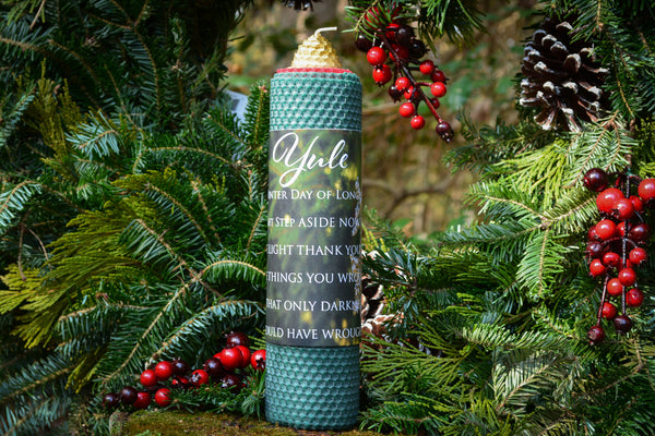 Yule Candle~To Honor the Returning Sun - Wild Witchery