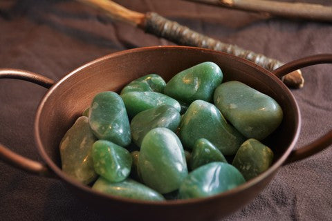 Green Aventurine~ For Luck, Opportunity & Prosperity - Wild Witchery