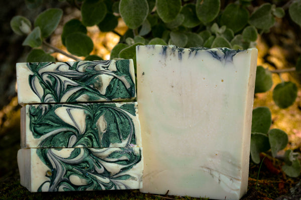 Cucumber-mint-soap-wild witchery