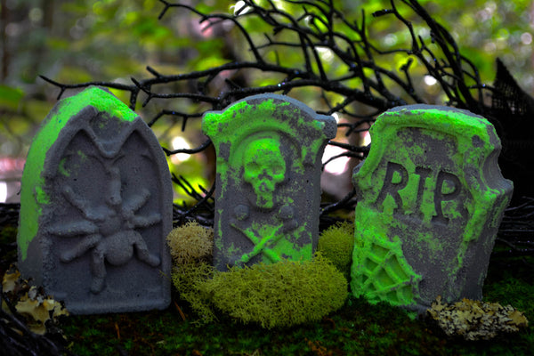 Tombstone Bath Bombs - Wild Witchery