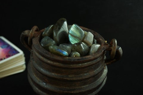 Labradorite~ For Magick, Intention & Shielding - Wild Witchery