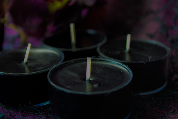 Noumenia Tea Lights~ For New Beginnings and Intention Setting - Wild Witchery