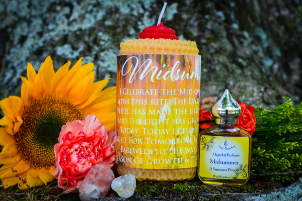 Midsummer Ritual Set~For Celebrating the Summer Solstice - Wild Witchery