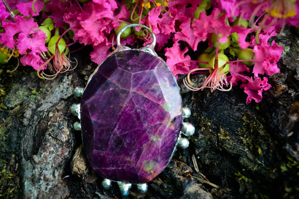Ruby Pendant - Wild Witchery