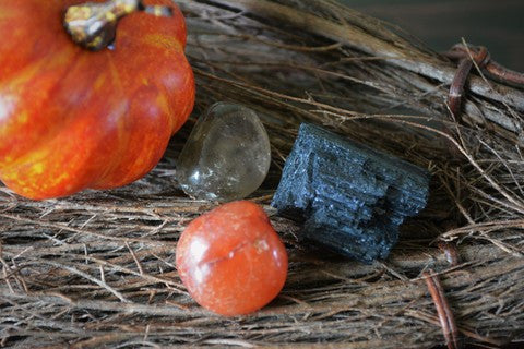 Samhain Gem Set ~for access to the Shadow & Spirit Realms - Wild Witchery