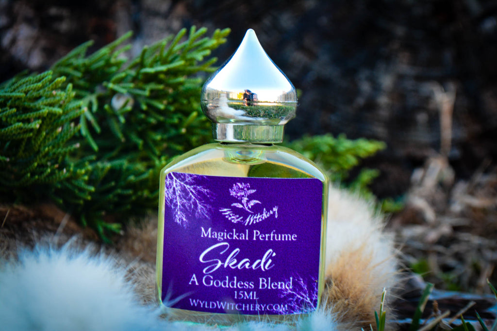 Skaði Perfume~For Strength, Courage & Endurance - Wild Witchery