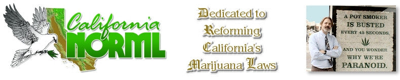 Twitter feed for California NORML