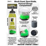 Brain Pad Mouth Piece with Water Bottle