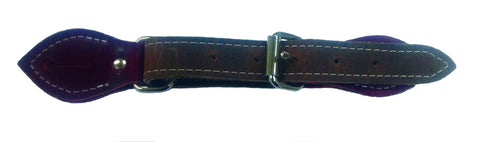 Leather Spur Straps Double