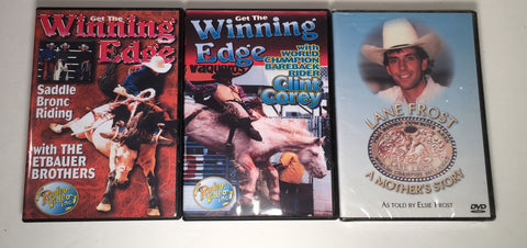 The Winning Edge - Etbauer Brothers Saddle Bronc Instructional DVD