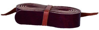 Jr. Latigo Leather Riggin Strap