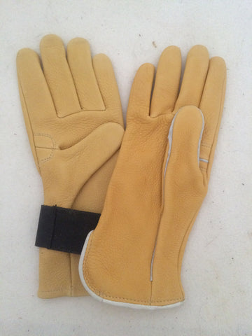 Bull Riding Gloves with or without Velcro Wrist