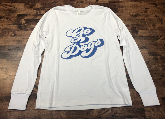 SALE! Go Dogs Long Sleeve Tee