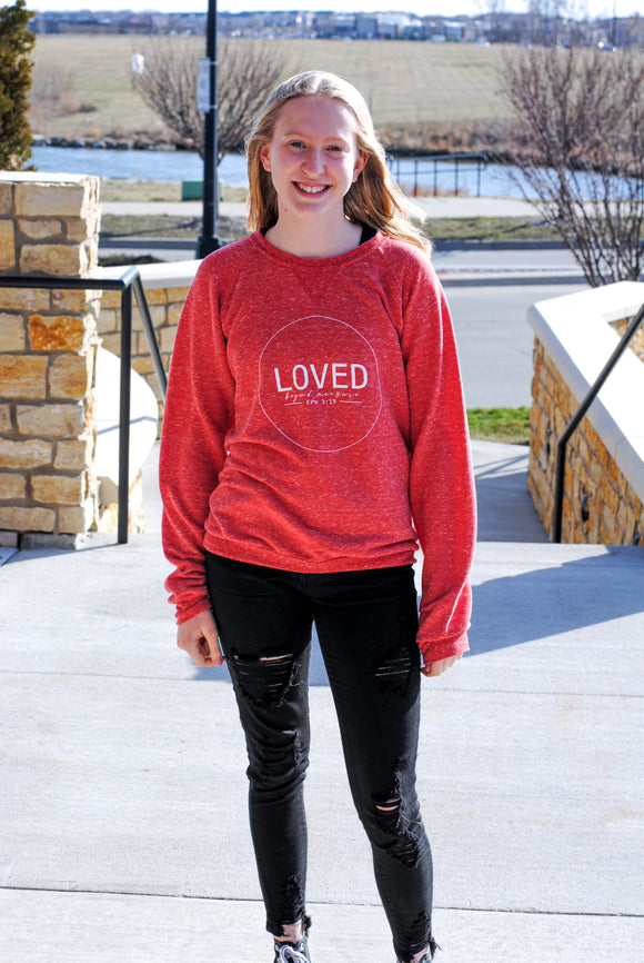 Loved Beyond Measure Pullover Sweatshirt