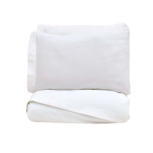 Vialifresh White Bed sheet Set