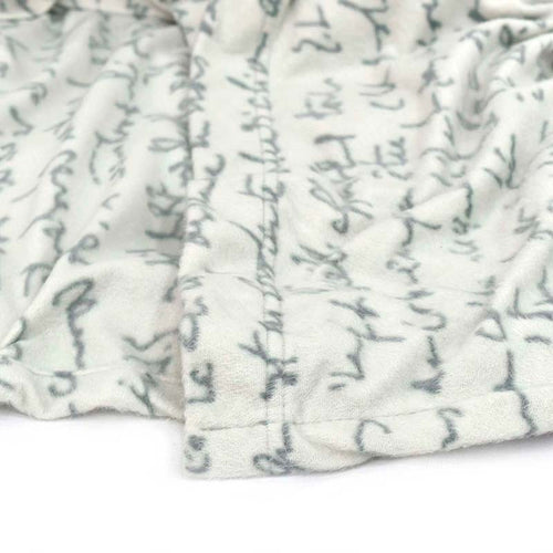 "POLAR BEDSHEETS ""LETTERS"""