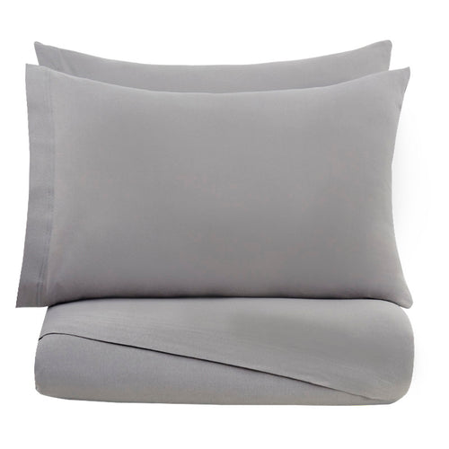 Gray Bed Sheets Set