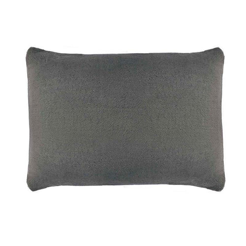 SHERPA PILLOW CASE  GREY