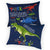 Decorative pillow T-Rex