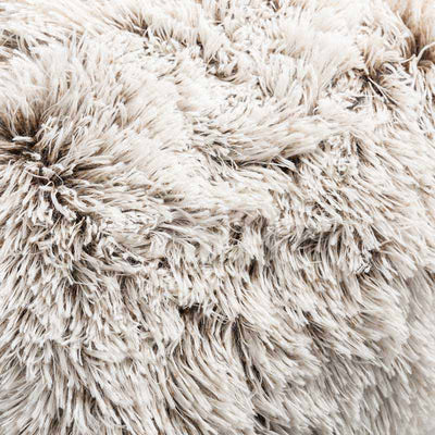 Cappuccino Faux Fur Pillow Cover