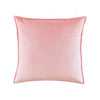 Velvet Pink DecorativeThrow Pillow Cover