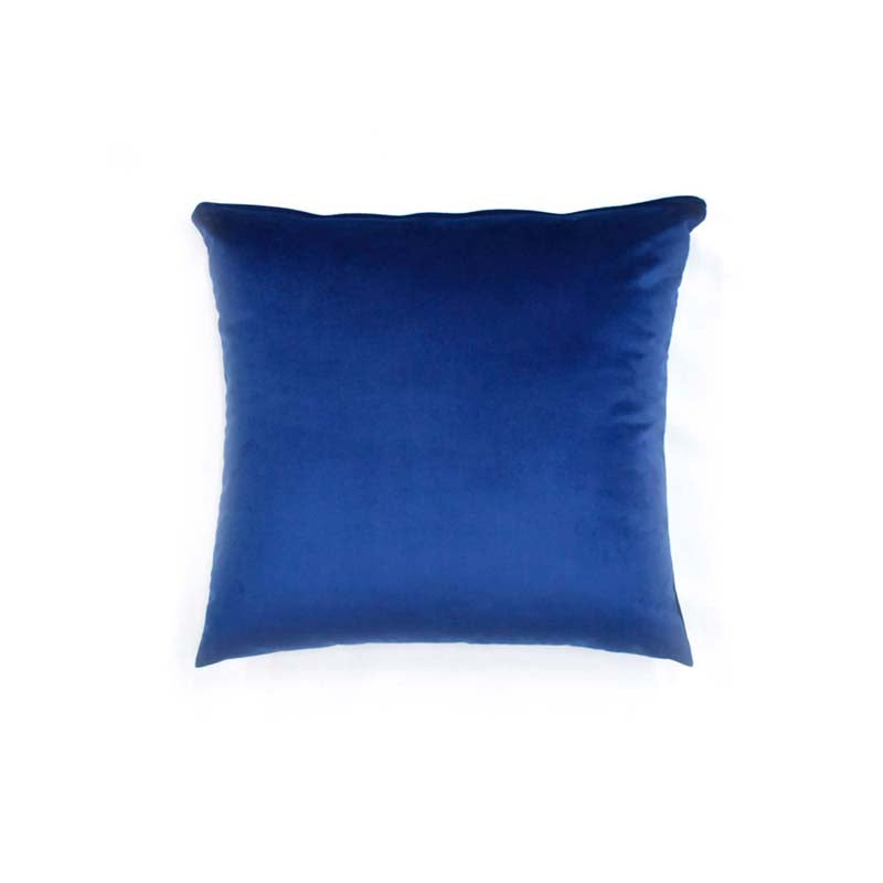 Blue Velvet Throw Pillow Cover