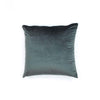 Gray Velvet Throw Pillow Sham