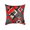 Terranova Cushions Red and grey, Guarantee*