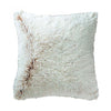 Capuccino Faux Fur Throw Pillow