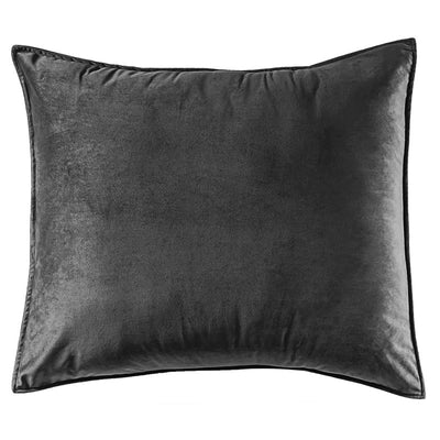 Velvet Pillow Sham Black
